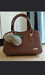 Handbag Purple high quality 可愛輕便手提袋 女裝 包包 手提及配肩帶2種 sales hdhnfjf