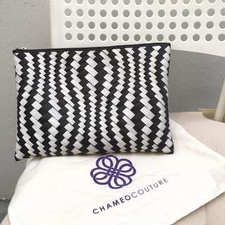 Authentic CHAMEO COUTURE Clutch (local brand)