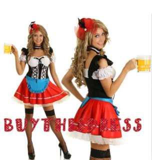 Oktoberfest Maid Women Party Dress