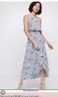 (Deal of the day!) Love Bonito maxi dress Xs Bnwt
