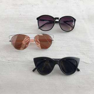All 3 Sunglasses for Php 500
