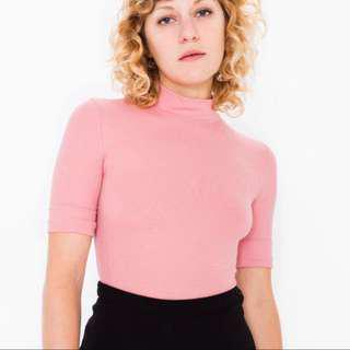 American Apparel Stevie Top Pink