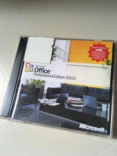 Microsoft Professional 2003