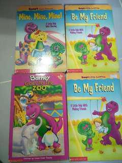 Barney hard cover books