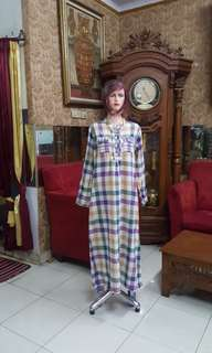 Gamis katun lee countere M