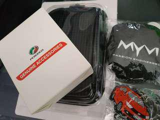 Perodua anti slip mat and magnetic phone holder