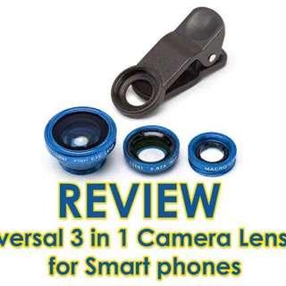 3-in-1 Camera Lens