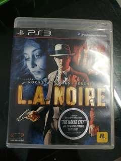 Ps3 game LA Noir