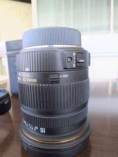 Sigma 17-50mm F2.8 EX DC for Pentax