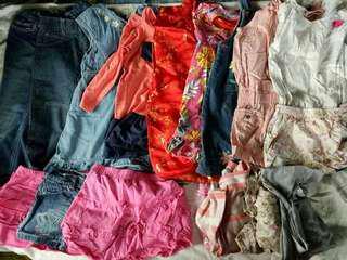 take all girls apparel for 4 to 6yo