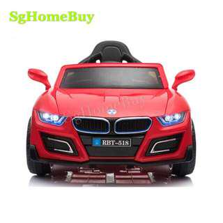 In-stock - Red BMW kids electric car