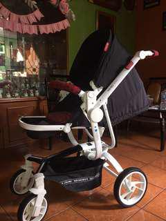 Coco Latte Quintas X RMD Knit Stroller