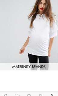 Maternity TOP white
