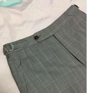 🚚 Glencheck Pants with Cuffs
