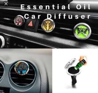 New Stainless Car Air Vent Freshener Essential oil