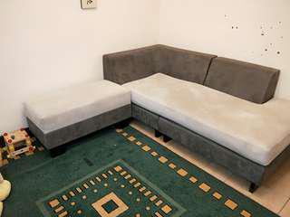 Hola沙發加收納椅,抱枕大小各兩個