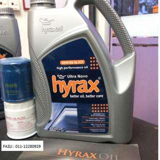 ENGINE OIL HIGH PERFORMANCE 20W-50 HYRAX OIL
