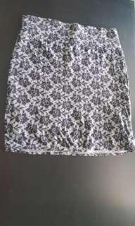 Cotton On S skirt flower print