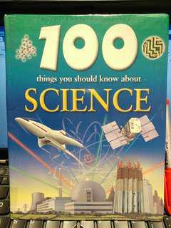 UK英國兒童STEM科學百科全書 100 things you should know about Science 科技 平過書展價 小學生讀物 兒童的科學圖書
