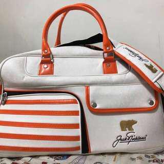 [Jack Nicklaus] 高爾夫球衣物行李袋(降價790)