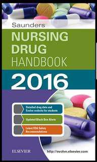 Book: Saunders Nursing Drug Handbook 2016 - Kzior, Hodgson - 1st ed PDF