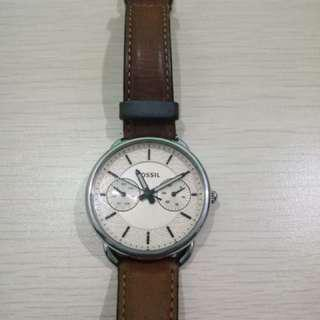 Fossil Brown Leather
