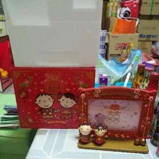 Sanrio Minna No Tabo 大口仔 2010年 結婚相架一個連盒