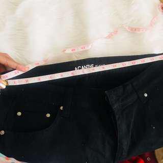 Orig Acanthe Black Jeans