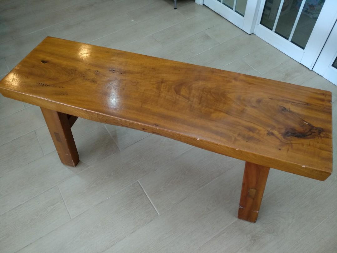 實木長凳(1200x345x465mm)