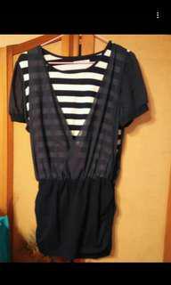 🚚 8成新短洋裝