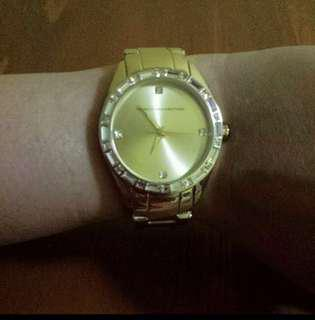 Fcuk Gold Plated watch