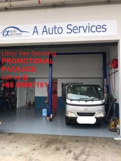 Lorry and Van servicing