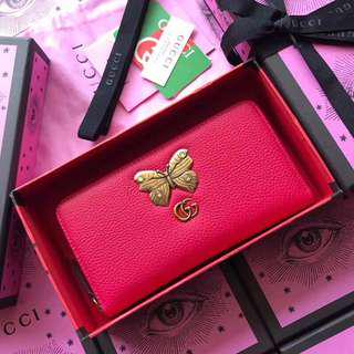 Gucci Wallet in Pink Red