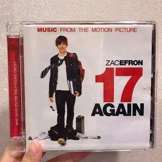17 again 回到十七歲電影原聲帶 Zac Efron小海報