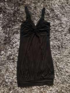 Costa Blanca Black Dress