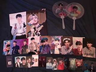 clearance - wanna one fansite items