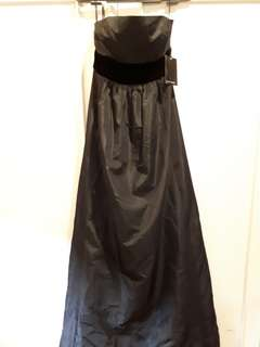Zara Black Long Gown