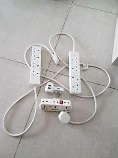 Extension cords and plugs