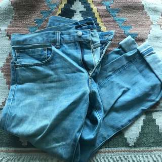 Heavy vintage washed jean