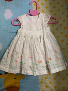 Mothercare Dress Newborn to 2 mons