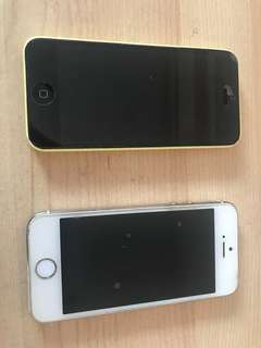 Iphone 5S and Iphone 5C
