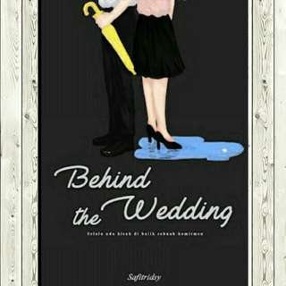 ebook - behind the wedding