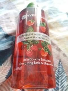 yves rocher 紅莓沐浴露400ml(包郵)