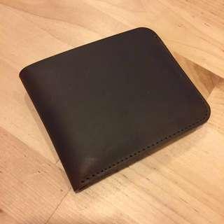 (last piece!) Minimalist Leather Short Wallet