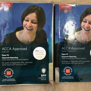 BPP ACCA P2 Study Text And Practice&Revision Kit Till June 2017 (UK Version)