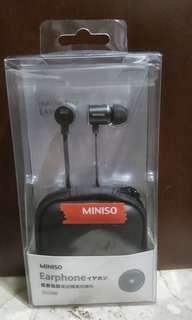 Headset / EarPhone - Miniso - NEW + ORI