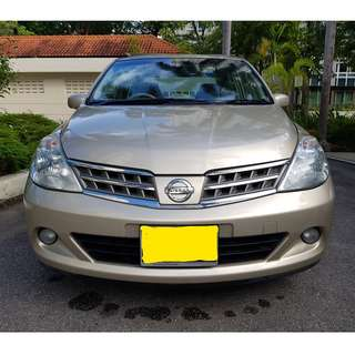 NISSAN LATIO 1.5L - SUPER COMFORTABLE, RELIABLE, SPACIOUS, HUGE BOOT, ECONOMICAL, LOW FINANCIAL STRESS! GRAB/MVL/RYDEX READY!