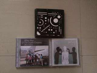[BUNDLE ALL 3] Album fourtwnty, white shoes and the couples company, efek rumah kaca
