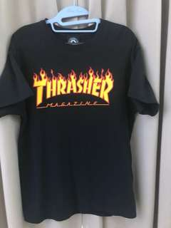 Authentic Thrasher Fire Tee