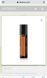 Frankincense Touch oil (doterra)